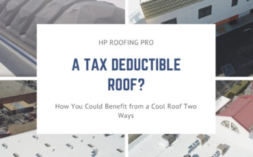 A Tax Deductible Roof? You Could Benefit from a Cool Roof Two Ways