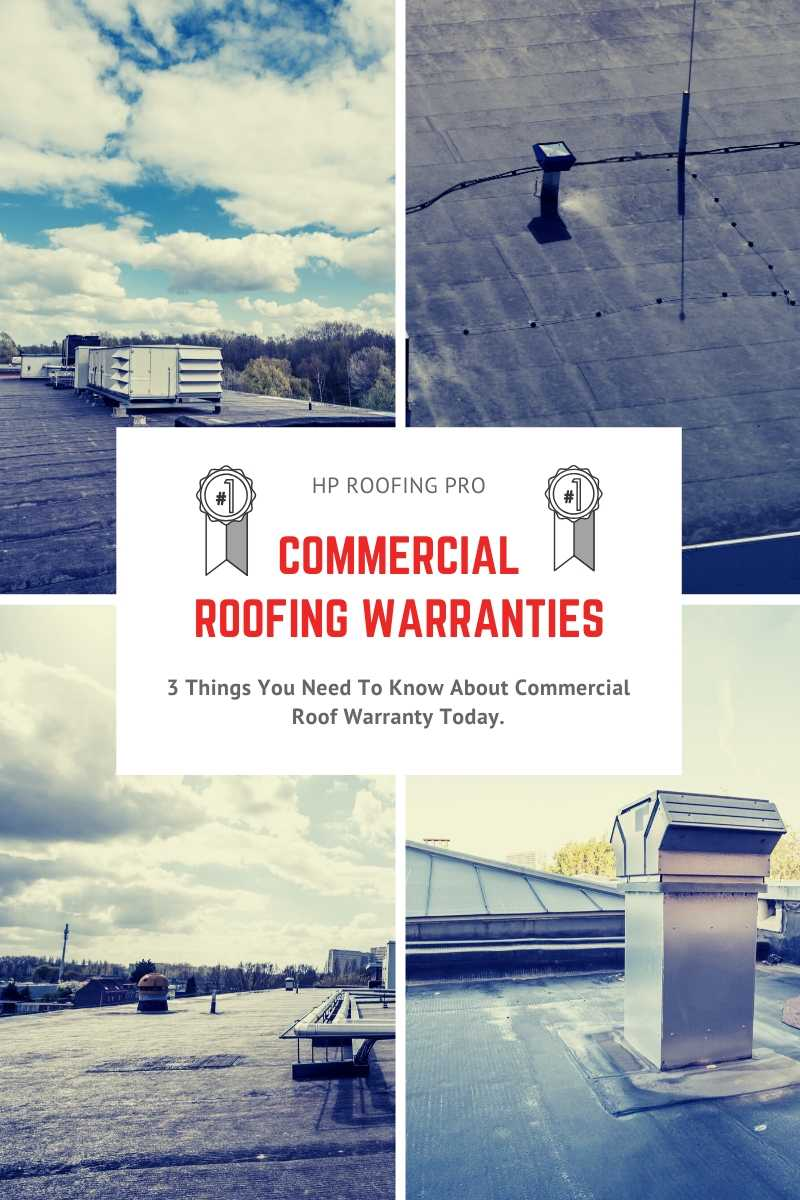3 Things You Need To Know About Commercial Roof Warranty Today